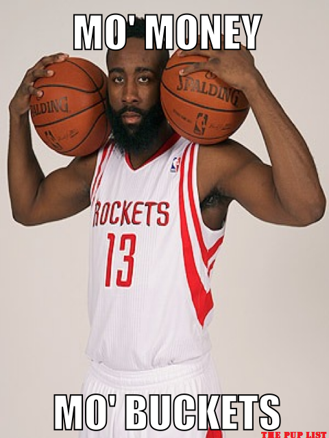 James Harden's remix of a Biggie classic – The PUP List