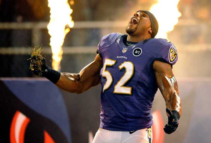 Ray Lewis knows what he's doing, people.
