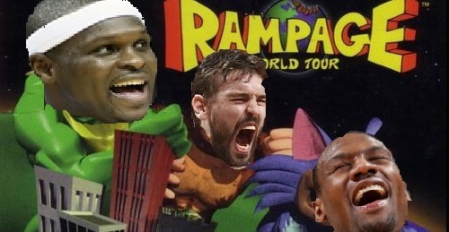 Rampage World Tour: Grind House Edition