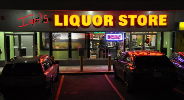 liquor store gunn