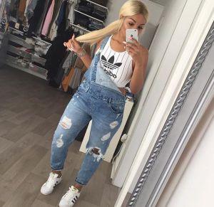 white adidas