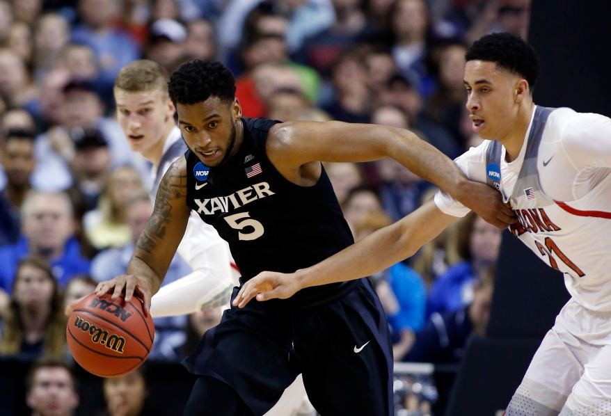 NCAA Xavier Arizona Basketball
